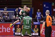 DESCRIZIONE : Milano Coppa Italia Final Eight 2014 Semifinali Enel Brindisi Montepaschi Siena<br /> GIOCATORE : Benjamin Ortner<br /> CATEGORIA : equilibrio curiosita passaggio scelta<br /> SQUADRA : Enel Brindisi Montepaschi Siena<br /> EVENTO : Beko Coppa Italia Final Eight 2014<br /> GARA : Enel Brindisi Montepaschi Siena<br /> DATA : 08/02/2014<br /> SPORT : Pallacanestro<br /> AUTORE : Agenzia Ciamillo-Castoria/C.De Massis<br /> Galleria : Lega Basket Final Eight Coppa Italia 2014<br /> Fotonotizia : Milano Coppa Italia Final Eight 2014 Semifinali Enel Brindisi Montepaschi Siena<br /> Predefinita :