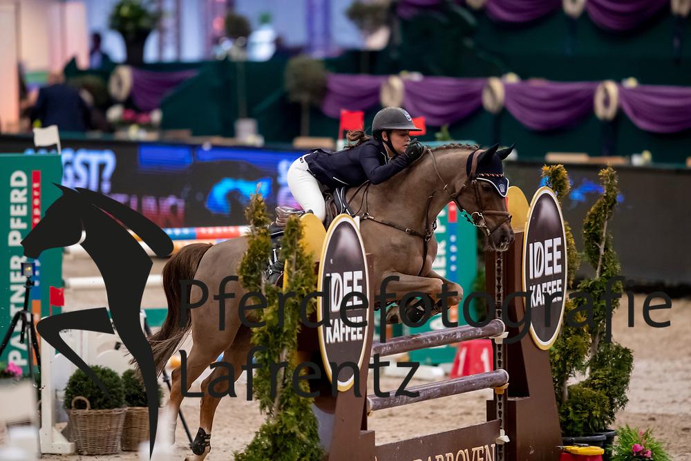 THIELEN Julie (GER), Bad Man <br /> Leipzig - Partner Pferd 2019<br /> SPOOKS-Amateur Trophy<br /> Small Tour<br /> 18. Januar 2019<br /> © www.sportfotos-lafrentz.de/Stefan Lafrentz