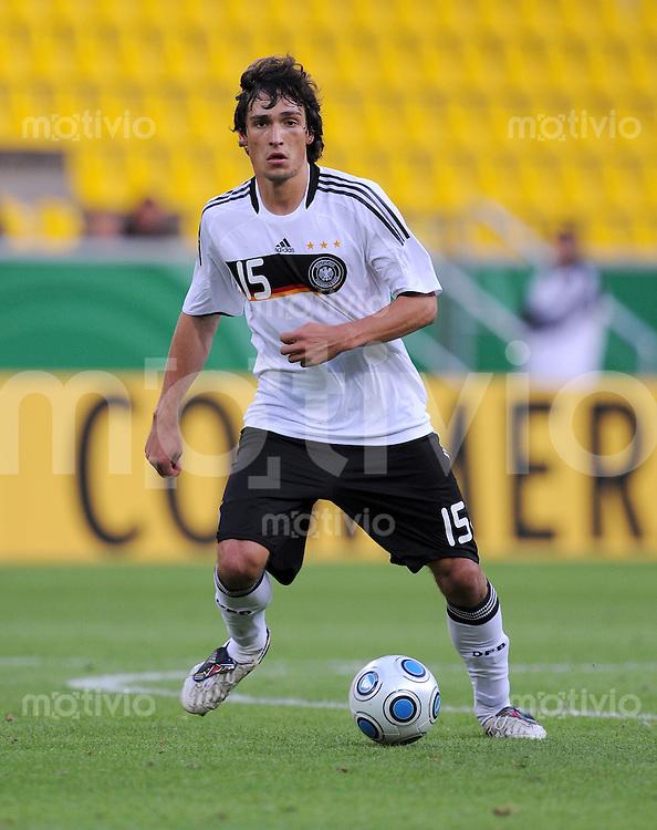 Fussball Nationalmannschaft :  Saison   2009/2010   04.09.2009 Fußball U21 : Deutschland - San Marino , GER - SM ,  Mats Hummels (GER)