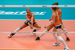 03-08-2019 ITA: FIVB Tokyo Volleyball Qualification 2019 / Netherlands, - Kenya Catania<br /> 3rd match pool F in hall Pala Catania between Netherlands - Kenya. Netherlands win 3-0 / Maret Balkestein-Grothues #6 of Netherlands