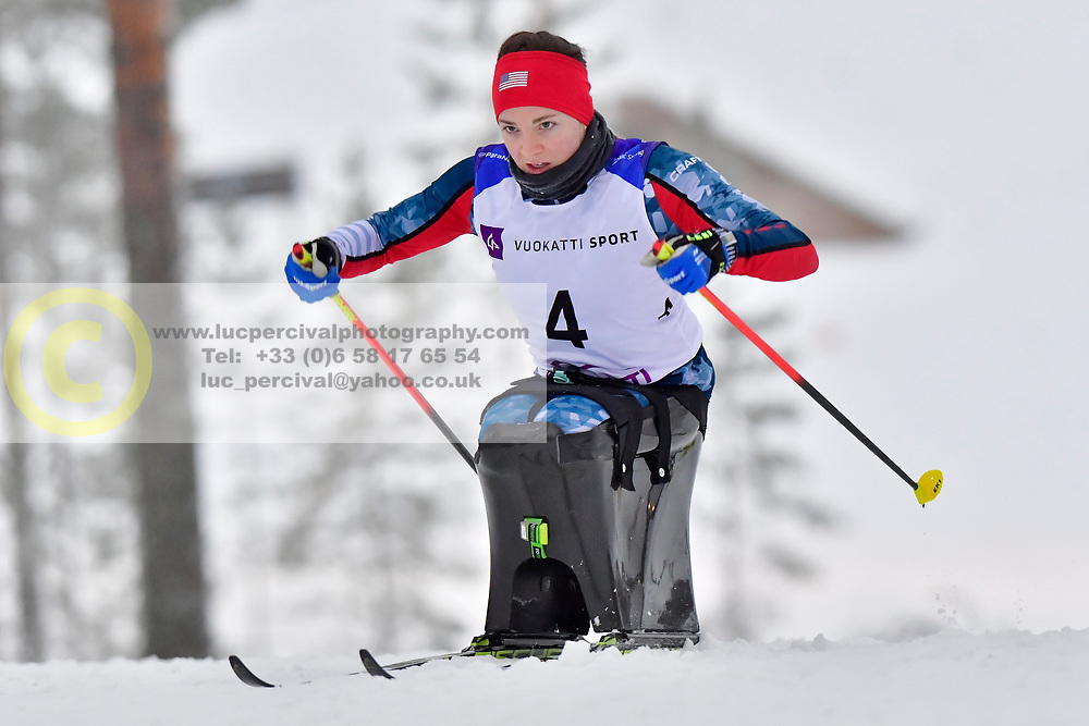 GRETSCH Kendall, USA, LW11.5 at the 2018 ParaNordic World Cup Vuokatti in Finland