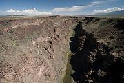 Cañon del Rio Grande, Rt. 64, near Taos, New Mexico.