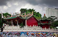 siew san Teng is Kuching's oldest Chinese temple.