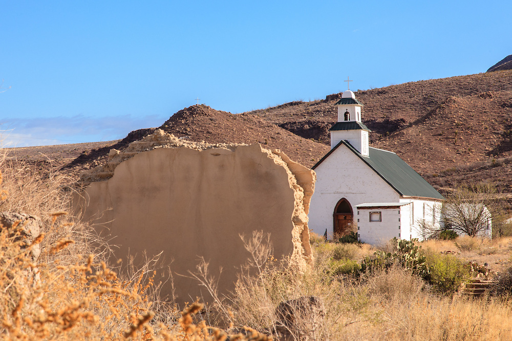 Church of the Sacred Heart in Shafter, TX