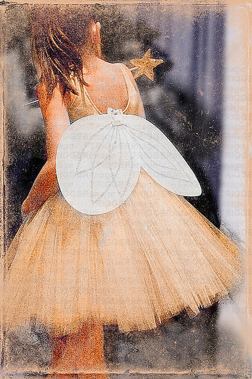 Ballet Fairy Dancer for the Nutcracker.