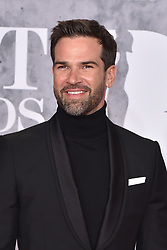 February 20, 2019 - London, United Kingdom of Great Britain and Northern Ireland - Gethin Jones arriving at The BRIT Awards 2019 at The O2 Arena on February 20, 2019 in London, England  (Credit Image: © Famous/Ace Pictures via ZUMA Press)
