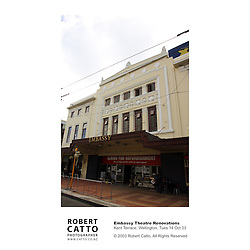 Wellington's historic Embassy Theatre underwent a total renovation in 2003 for the world premiere of Peter Jackson's Lord Of The Rings: The Return Of The King.
