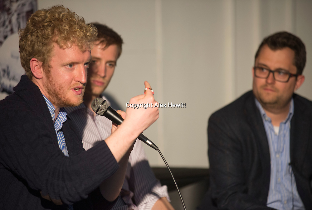 Product Tank Edinburgh with Skyscanner Business. Getting B2B sales off to a flying start with Matt Smith and Ross McNairn. 26th May 2016<br /> <br /> picture by Alex Hewitt Photography
