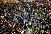 NYC at Night: Aerial