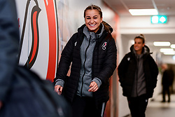 Megan Wynne of Bristol City Women arrives at Stoke Gifford Stadium prior to kick off - Mandatory by-line: Ryan Hiscott/JMP - 17/02/2020 - FOOTBALL - Stoke Gifford Stadium - Bristol, England - Bristol City Women v Everton Women - Women's FA Cup fifth round