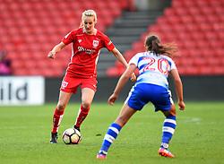 Millie Turner of Bristol City Women in action against Reading FC Women - Mandatory by-line: Paul Knight/JMP - 22/04/2017 - FOOTBALL - Ashton Gate - Bristol, England - Bristol City Women v Reading Women - FA Women's Super League 1 Spring Series