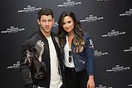 Nick Jonas and Demi Lovato at Phoenix Premium Outlets