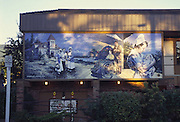 Wall Mural, Chemainus, British Columbia, Canada<br />