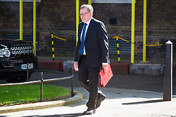 London, July 4th 2017. Scotland Secretary David Mundell attends the weekly cabinet meeting at 10 Downing Street in London.