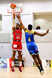 Justin Gray of Bristol Flyers - Photo mandatory by-line: Robbie Stephenson/JMP - 31/03/2019 - BASKETBALL - Cheshire Oaks Arena - Ellesmere Port, England - Cheshire Phoenix v Bristol Flyers - British Basketball League Championship