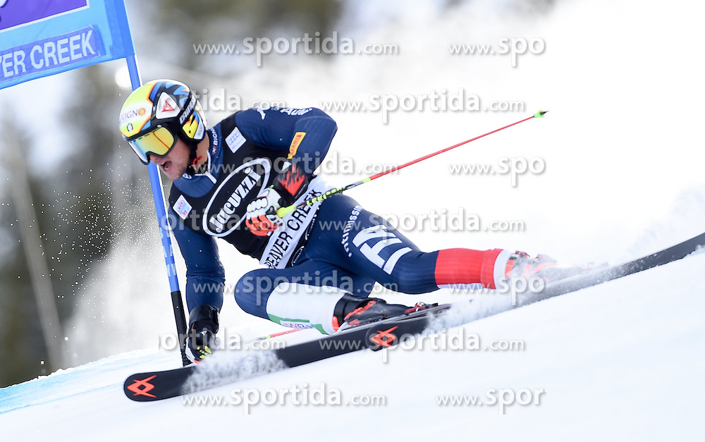 06.12.2015, Birds of Prey Course, Beaver Creek, USA, FIS Weltcup Ski Alpin, Beaver Creek, Riesenslalom, Herren, 1. Lauf, im Bild Roberto Nani (ITA) // Roberto Nani of Italy during the first run of mens Giant Slalom of the Beaver Creek FIS Ski Alpine World Cup at the Birds of Prey Course in Beaver Creek, United States on 2015/12/06. EXPA Pictures © 2015, PhotoCredit: EXPA/ Erich Spiess