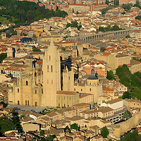Alberto Carrera, Aerial View, Segovia, Castilla y León, Spain, Europe