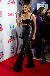 © Licensed to London News Pictures. 03/12/2016. PERRIE EDWARDS of LITTLE MIX attends Capital's Jingle Bell Ball with Coca-Cola at London's O2 Arena London, UK. Photo credit: Ray Tang/LNP