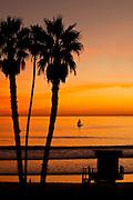 Sailing By San Clemente Pier
