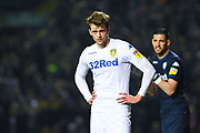 Patrick Bamford of Leeds United (9) in action during the EFL Sky Bet Championship match between Leeds United and West Bromwich Albion at Elland Road, Leeds, England on 1 March 2019.