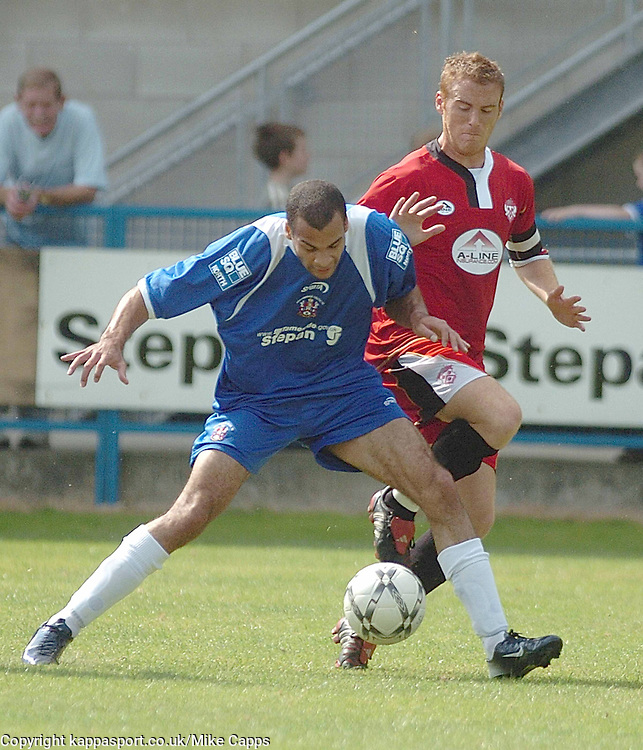 CHRIS HALL, Stalybridge Celtic, Brett Solkhon, Kettering Town, Stalybridge Celtic - Kettering Town, Blue Square Conference North 11/8/2007