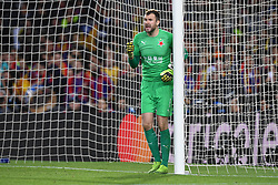 November 5, 2019, Barcelone, Espagne: FOOTBALL: FC Barcelone vs SK Slavia Praha - Champions League - 05/11/2019.Ondrej Kolar. (Credit Image: © Panoramic via ZUMA Press)
