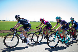 Grace Brown (AUS) of Wiggle High5 Cycling Team drives the pace at the front during Stage 1 of the Amgen Tour of California - a 124 km road race, starting and finishing in Elk Grove on May 17, 2018, in California, United States. (Photo by Balint Hamvas/Velofocus.com)