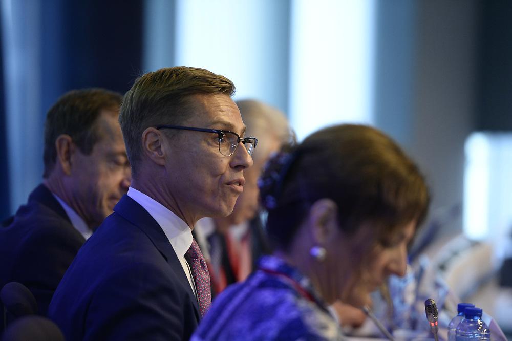 Brussels, Belgium - 25 September 2017 <br /> &quot;The Future of Finances&quot; conference.<br /> Photo: European Commission / Ezequiel Scagnetti