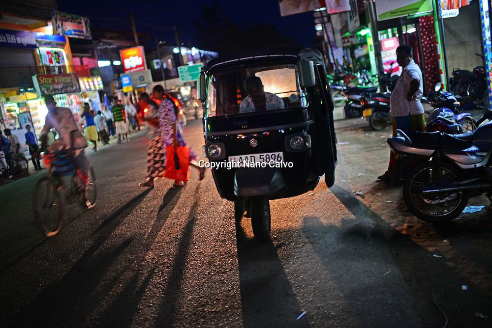 Streets of Weligama, Sri Lanka