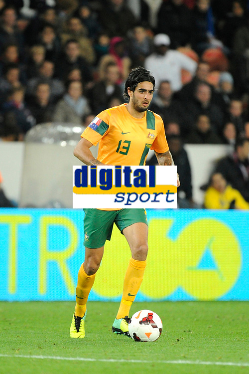 Australia's Rhys Williams during the International football Friendly Game 2013/2014 between France and Australia on October 11, 2013 in Paris, France. Photo Jean Marie Hervio / Regamedia/ DPPI