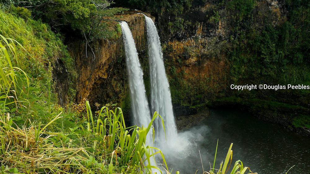 Wailua, Falls, Kauai, Hawaii