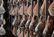 01/12/14 - AURILLAC - CANTAL - FRANCE - Entreprise Cantal Salaisons. Sechoir a jambon - Photo Jerome CHABANNE