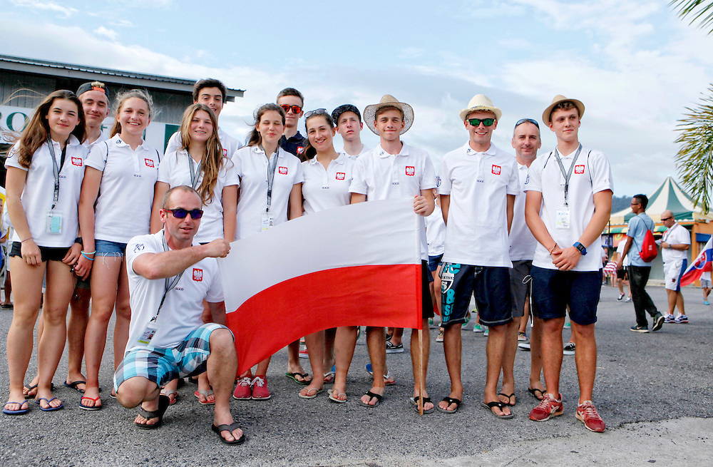 Opening Ceremony.<br /> 2015 Youth Sailing World Championships,<br /> Langkawi, Malaysia