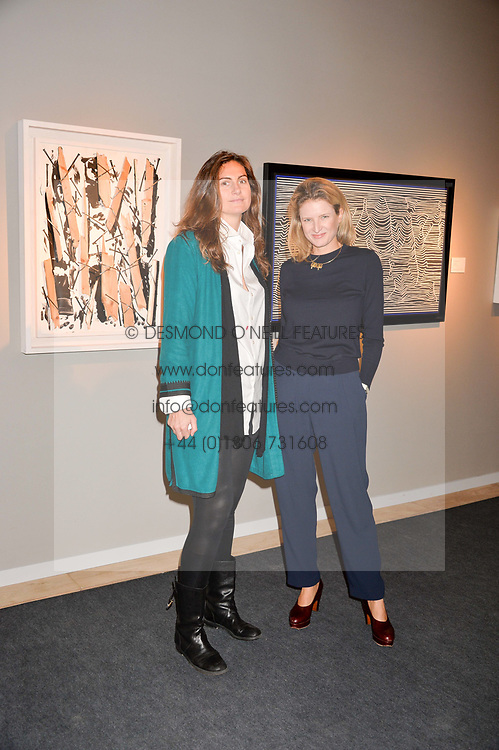 And Fiona Scarry at the 2017 PAD Collector's Preview, Berkeley Square, London, England. 02 October 2017.