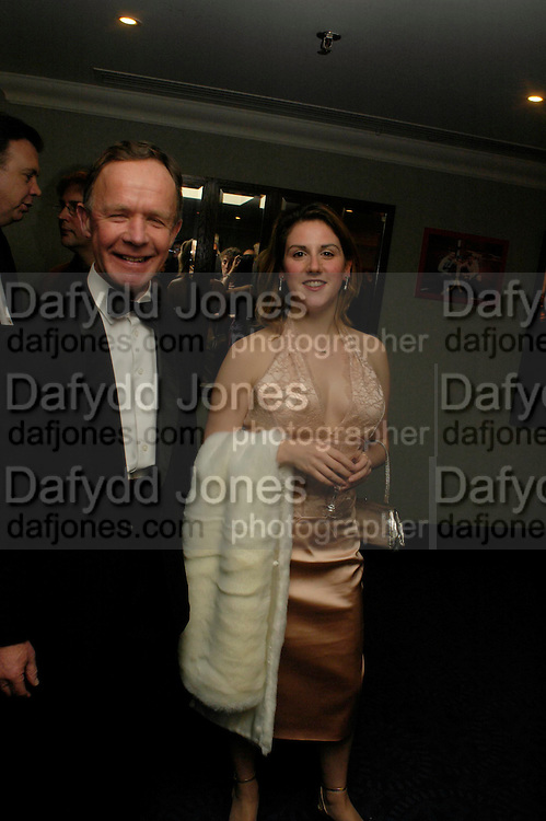 Col. Edward Loden and Dr. Sarah de Freytus. White Knights Ball, Grosvenor House Hotel 7 January 2005. ONE TIME USE ONLY - DO NOT ARCHIVE  © Copyright Photograph by Dafydd Jones 66 Stockwell Park Rd. London SW9 0DA Tel 020 7733 0108 www.dafjones.com