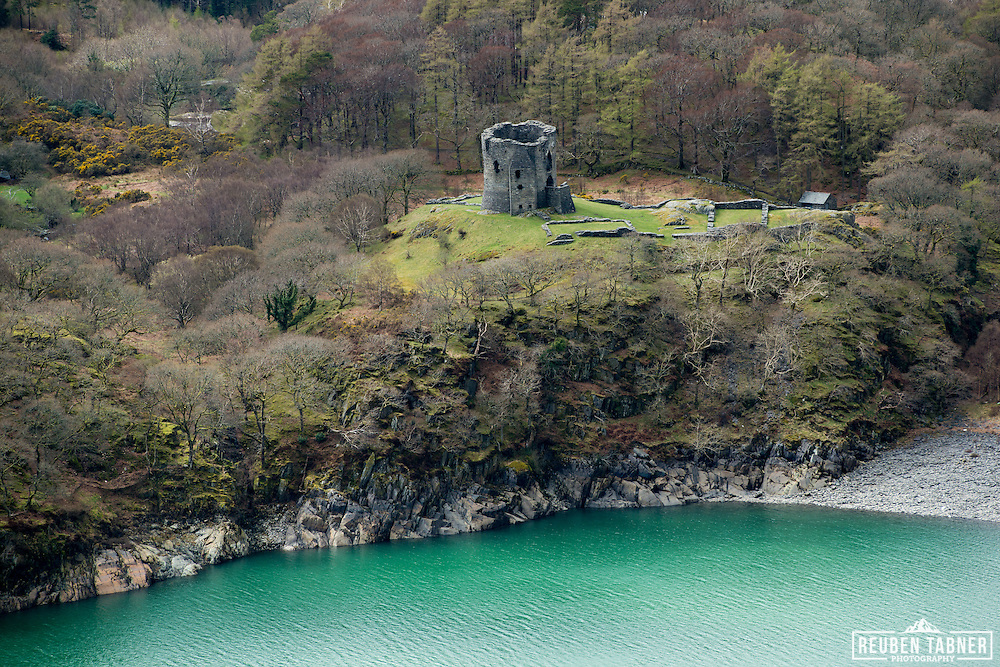 Castle at Llanberis in north Wales.