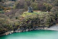 Castle at Llanberis in north Wales.