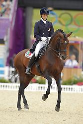 Carvalho, Goncalo, Rubins Royal <br /> London - Olympische Spiele 2012<br /> <br /> Grand Prix Special, Teamwertung<br /> © www.sportfotos-lafrentz.de/Stefan Lafrentz