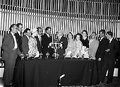 1959 - Presentation of Esso Perpetual Trophy to the Listowel Drama Group at the Shelbourne Hotel