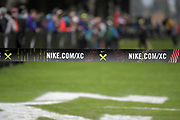 Dec 2, 2017; Portland, OR, USA; General overall view of the finish line during the 2017 Nike Cross Nationals at Glendoveer Golf Course.