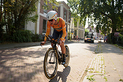 Chantal Blaak at Boels Rental Ladies Tour Prologue a 4.3 km individual time trial in Wageningen, Netherlands on August 29, 2017. (Photo by Sean Robinson/Velofocus)