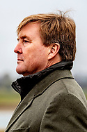 JOPPE - King Willem-Alexander and Minister Carola Schouten (Agriculture, Nature and Food Quality) pay a visit to dairy farm Groot Steinfort. The visit is part of a series of visits by the king with ministers and state secretaries. copyrught robin utrecht
