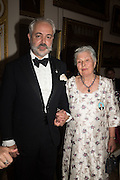 PRINCE LEON-ROMAN HARITO-LIRZA; DOWAGER PRINCESS SOFIA LIRZAThe 20th Russian Summer Ball, Lancaster House, Proceeds from the event will benefit The Romanov Fund for RussiaLondon. 20 June 2015
