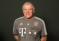 German Soccer Bundesliga 2015/16 - Photocall of FC Bayern Munich on 16 July 2015 in Munich, Germany: assistant-coach Hermann Gerland