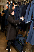 Lanvin shop opening. Mount St. London. 26 March 2009