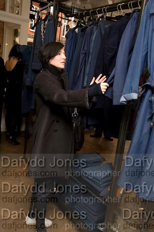 Lanvin shop opening. Mount St. London. 26 March 2009