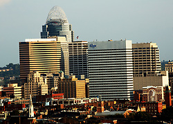September 3, 2017 - Cincinnati, Ohio, U.S - Downtown Cincinnati ,Ohio On Sep 4, 2017.  With the Kroger Building and the Great American Financial Group build on the left  (Credit Image: © Ernest Coleman via ZUMA Wire)