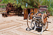 The Borax Museum at Furnace Creek Ranch, Death Valley National Park. California