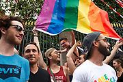France, Paris, 24 June 2017. 40th edition of Gay pride, marche des fiertés LGBT.