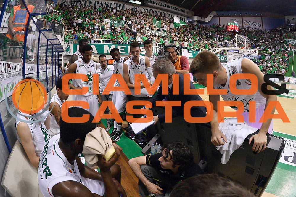 DESCRIZIONE : Siena Lega A 2013-14 Montepaschi Siena vs EA7 Emporio Armani Milano playoff Finale gara 4<br /> GIOCATORE : Marco Crespi Team<br /> CATEGORIA : Timeout<br /> SQUADRA : Montepaschi Siena<br /> EVENTO : Finale gara 4 playoff<br /> GARA : Montepaschi Siena vs EA7 Emporio Armani Milano playoff Finale gara 4<br /> DATA : 21/06/2014<br /> SPORT : Pallacanestro <br /> AUTORE : Agenzia Ciamillo-Castoria/GiulioCiamillo<br /> Galleria : Lega Basket A 2013-2014  <br /> Fotonotizia : Siena Lega A 2013-14 Montepaschi Siena vs EA7 Emporio Armani Milano playoff Finale gara 4<br /> Predefinita :